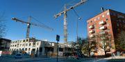 Bostadsbygge i Solna.  Janerik Henriksson/TT / TT NYHETSBYRÅN