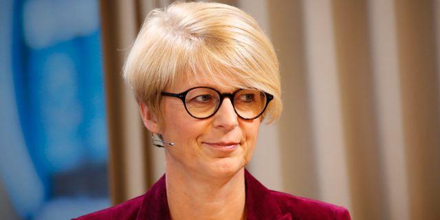 Elisabeth Svantesson, ekonomisk-politisk talesperson för Moderaterna.  Christine Olsson/TT / TT NYHETSBYRÅN