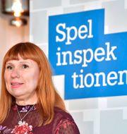 Arkivbild: Spelinspektionens generaldirektör Camilla Rosenberg Jonas Ekströmer/TT / TT NYHETSBYRÅN