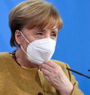 Angela Merkel.  Annegret Hilse / TT NYHETSBYRÅN
