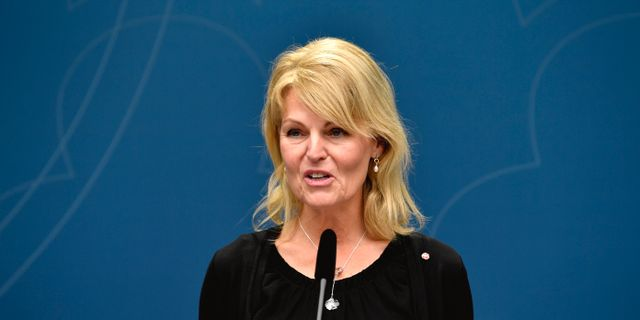 Utrikeshandelsminister Anna Hallberg (S). Henrik Montgomery/TT / TT NYHETSBYRÅN