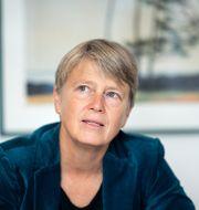 Medlingsinstitutets generaldirektör Irene Wennemo.  Pontus Lundahl/TT / TT NYHETSBYRÅN