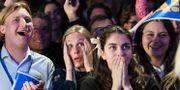 Reaktioner på Liberalernas valvaka. Fredrik Sandberg/TT / TT NYHETSBYRÅN