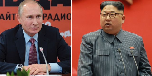 """Putin om Kim: """"Han är en  TT"""