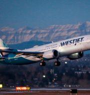 Arkivbild: Ett Boeing 737 Max-plan lyfter från flygplatsen i Calgary Jeff McIntosh / TT NYHETSBYRÅN