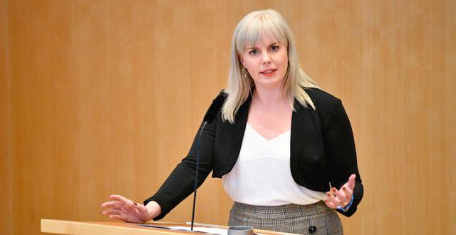 Linda Snecker Henrik Montgomery/TT / TT NYHETSBYRÅN