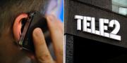 Tele2:s telefoni kraschade igen på tisdagen. Arkivbilder. TT