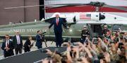Donald Trump inför ett tal till militären i juni 2019. Ed Jones / TT NYHETSBYRÅN