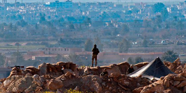 Baghouz. FADEL SENNA / AFP