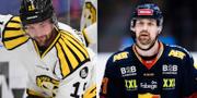 Simon Bertilsson och Patrik Berglund. TT