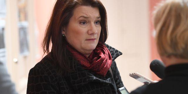 Ann Linde (S). Henrik Montgomery/TT / TT NYHETSBYRÅN