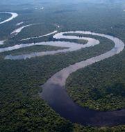 Nana-floden i norra Peru. Rodrigo Abd / TT NYHETSBYRÅN