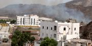 Våldsamheter har drabbat Aden i Jemen. Fawaz Salman / TT NYHETSBYRÅN
