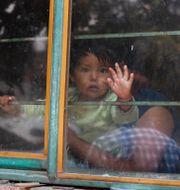 Barn i Mexiko under pandemin.  Rebecca Blackwell / TT NYHETSBYRÅN
