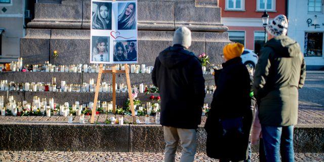 Minnesplats för Wilma Andersson i Uddevalla. Adam Ihse/TT / TT NYHETSBYRÅN