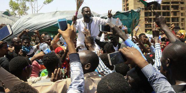 Sudaneser friar. EBRAHIM HAMID / AFP
