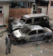 En attack var riktad mot en mödravårdscentral. Rahmat Gul / TT NYHETSBYRÅN