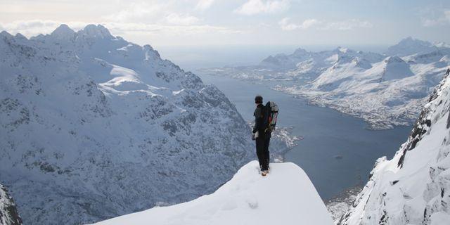 Lyngsalpene vid norska Tromsø är bättre än Alperna, enligt Petter Stordalen. Youtube