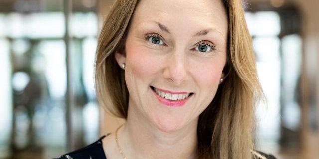 Emma Unevik, ordförande i Almega Serviceföretagen.  Foto: Linda Broström