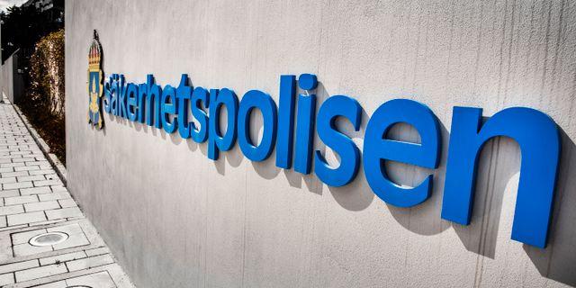 Säpo anser inte att något fel begåtts Tomas Oneborg/SvD/TT / TT NYHETSBYRÅN