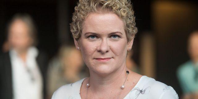 Oppositionsborgarrådet Karin Wanngård (S). Fredrik Sandberg/TT / TT NYHETSBYRÅN