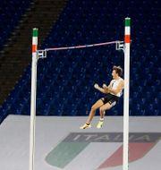 Armand Duplantis är ett av Sveriges OS-hopp Gregorio Borgia / TT NYHETSBYRÅN