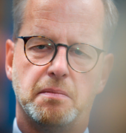 Mikael Damberg/Polisinsats efter skjutning i Hisings Backa. TT