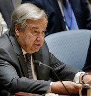 António Guterres. Seth Wenig / TT NYHETSBYRÅN
