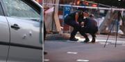 Mannen sköts till döds när han satt i sin bil TT