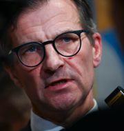 FI:s generaldirektör Erik Thedéen.  Pontus Lundahl/TT / TT NYHETSBYRÅN