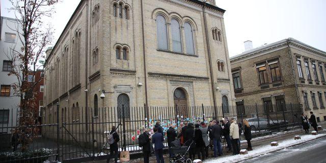 Göteborgs synagoga.  Adam Ihse/TT / TT NYHETSBYRÅN