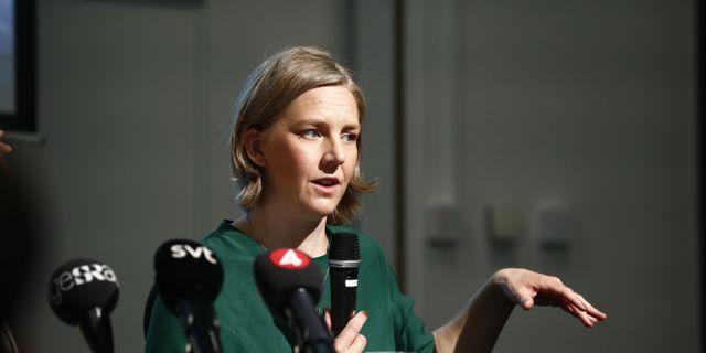 Arkivbild: Miljöminister Karolina Skog (MP).  Stefan Jerrevång/TT / TT NYHETSBYRÅN