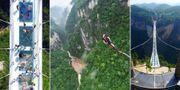 Världens högsta bungyjump öppnar i Kina i augusti. AP Photo / Getty