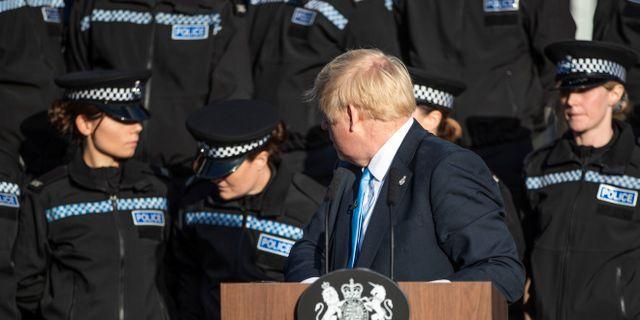 Arkivbild, Boris Johnson. POOL / TT NYHETSBYRÅN