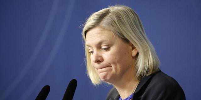 Magdalena Andersson (S).  Christine Olsson/TT / TT NYHETSBYRÅN