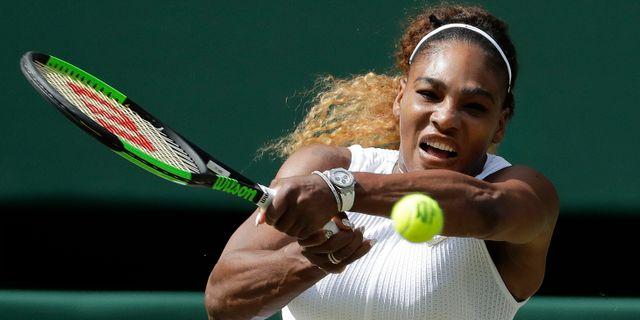 Serena Williams.  Ben Curtis / TT NYHETSBYRÅN