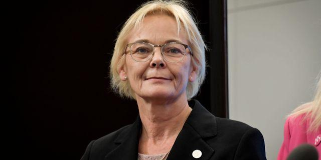 Ewa Thalén Finné. Janerik Henriksson/TT / TT NYHETSBYRÅN