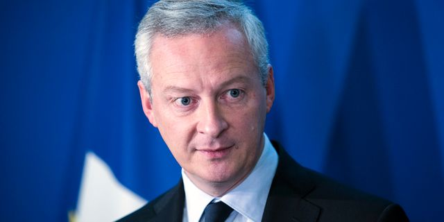 Frankrikes finansminister Bruno Le Maire. Arkivbild.  Kamil Zihnioglu / TT / NTB Scanpix