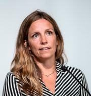 Sara Byfors, enhetschef vid Folkhälsomyndigheten. Christine Olsson / TT NYHETSBYRÅN