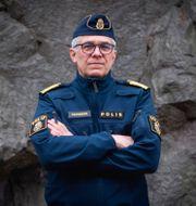 Rikspolischef Anders Thornberg.  Carl-Olof Zimmerman/TT / TT NYHETSBYRÅN