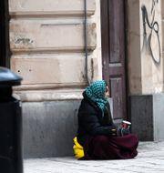 GP:s ledarskribent kritiserar förslaget om lägerplatser till romer. FREDRIK SANDBERG / TT / TT NYHETSBYRÅN