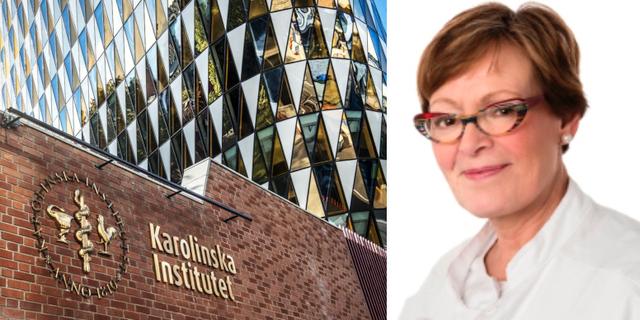 Liselotte Højgaard (t h). TT/Rigshospitalet.