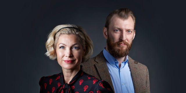 Anna-Karin Wyndhamn och Ivar Arpi. Peter Knutson