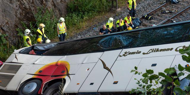 Chauffor tog swebus ur krisen