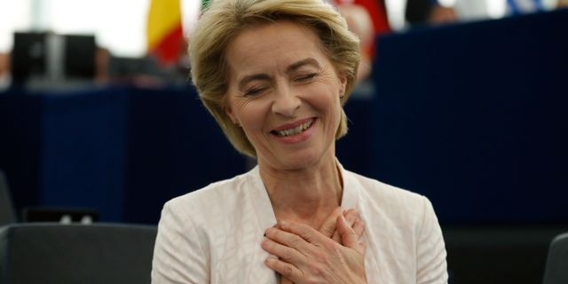 Ursula von der Leyen. Jean-Francois Badias / TT NYHETSBYRÅN/ NTB Scanpix