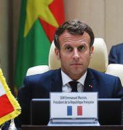 Emmanuel Macron, arkivbild. Ludovic Marin / TT NYHETSBYRÅN