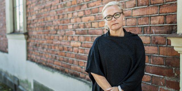 Britta Lejon är förbundsordförande på fackförbundet ST.  Daniella backlund/SvD/TT / TT NYHETSBYRÅN