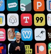 Tim Cook, vd Apple.  Marcio Jose Sanchez / TT NYHETSBYRÅN/ NTB Scanpix