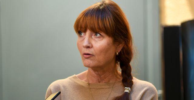 Metallbasen Marie Nilsson. Arkivbild. Fredrik Sandberg/TT / TT NYHETSBYRÅN