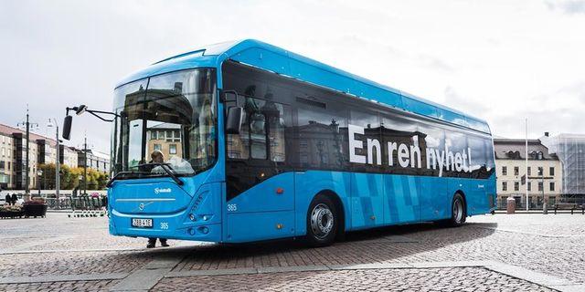 Elbuss Volvo Bussar.